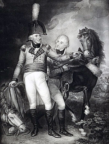 Lake taking his son's horse: Battle of Laswaree on 1st November 1803 in the Second Mahratta War