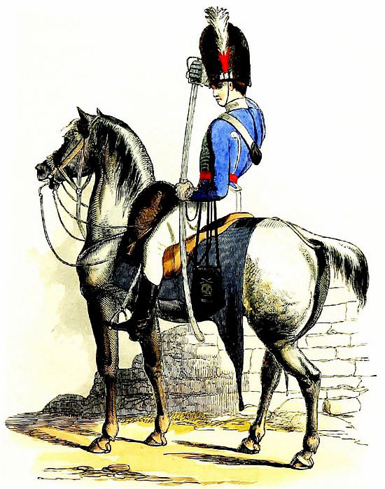 British Light Dragoon: Battle of Laswaree on 1st November 1803 in the Second Mahratta War
