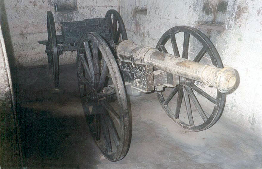 Mahratta field gun: Battle of Laswaree on 1st November 1803 in the Second Mahratta War