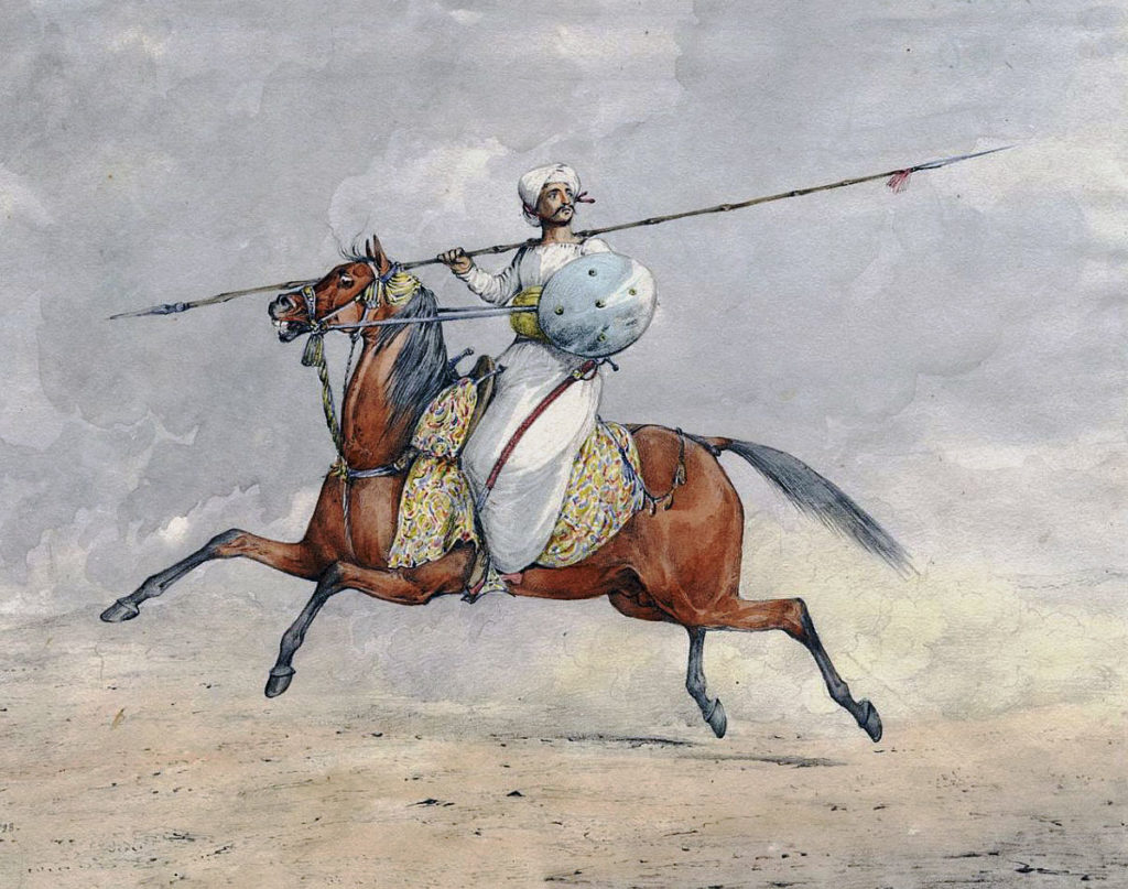 Mahratta Light Horseman: Battle of Laswaree on 1st November 1803 in the Second Mahratta War