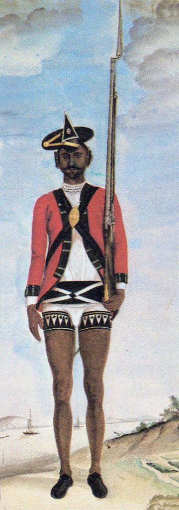 Sepoy of Bengal Infantry: Battle of Laswaree on 1st November 1803 in the Second Mahratta War
