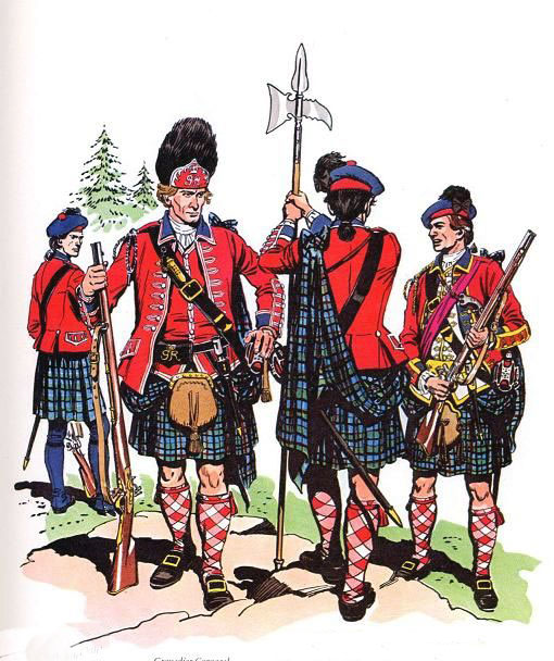 42nd Highlanders 'Black Watch': Capture of Havana in August 1762 during the Seven Years War