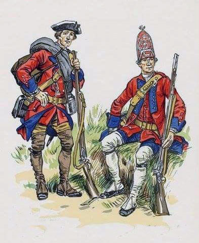 British 60th Royal American Regiment: Capture of Havana in August 1762 during the Seven Years War