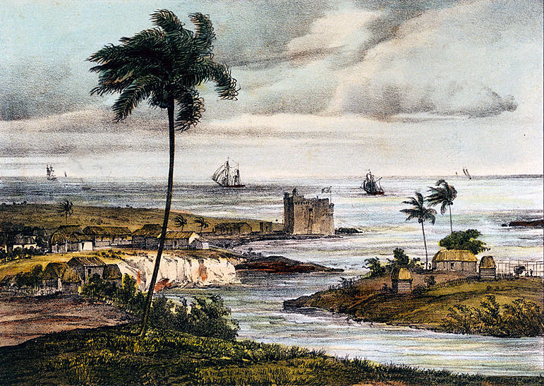 Fort at Coximar: Capture of Havana in August 1762 during the Seven Years War