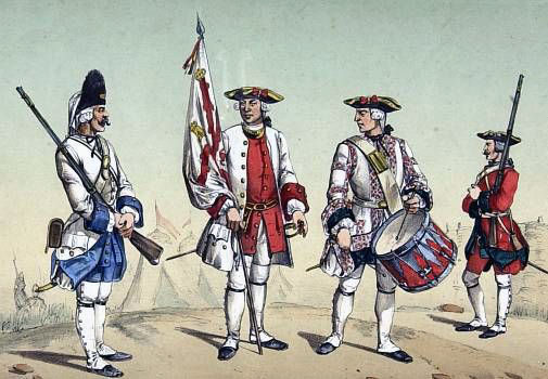 Spanish Infantry: Capture of Havana in August 1762 during the Seven Years War
