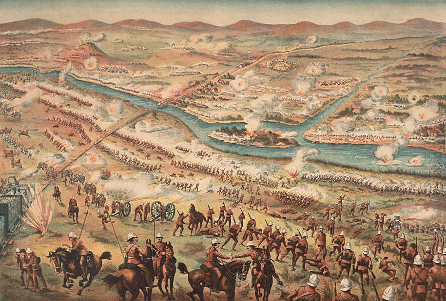 Battle of Modder River on 28th November 1899 in the Boer War