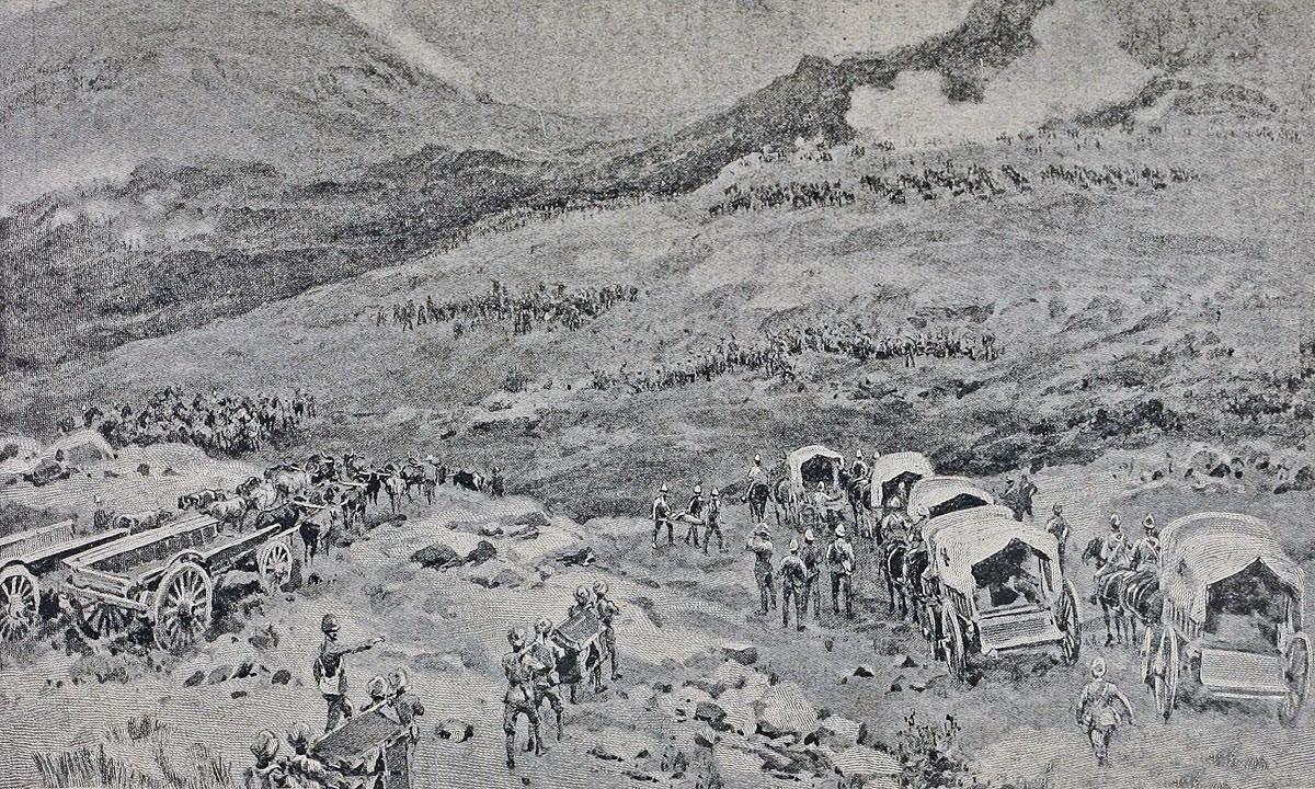 Battle of Rietfontein on 24th October 1899