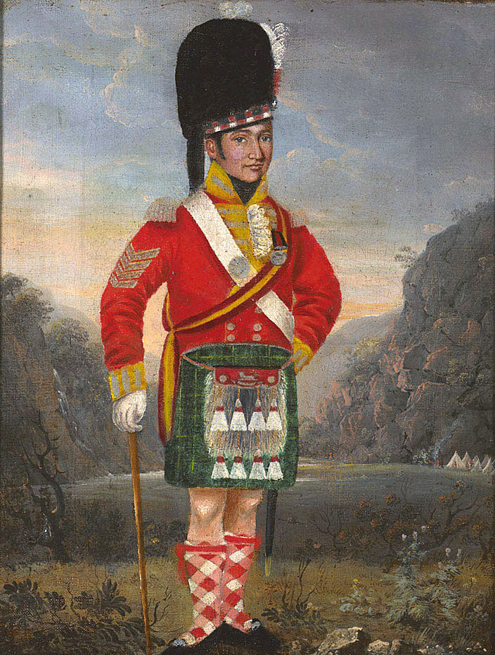 Sergeant 92nd Highlanders: Battle of Alexandria 8th to 21st March 1801