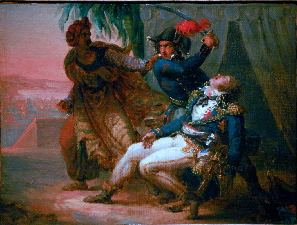 Assassination of Kléber: Battle of Alexandria 8th to 21st March 1801