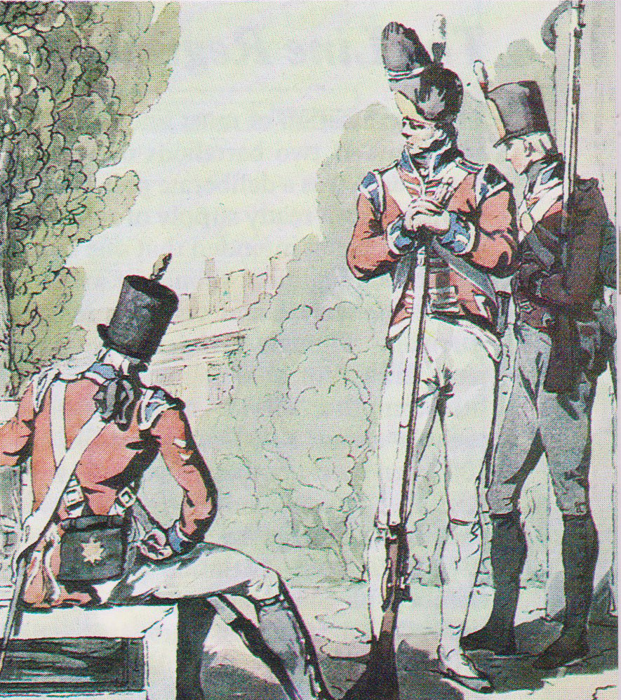 British Coldstream and Third Foot Guards: the Battle of Alexandria 8th to 21st March 1801