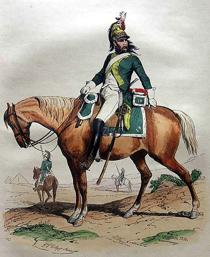 French dragoon in Egypt: Battle of Alexandria 8th to 21st March 1801