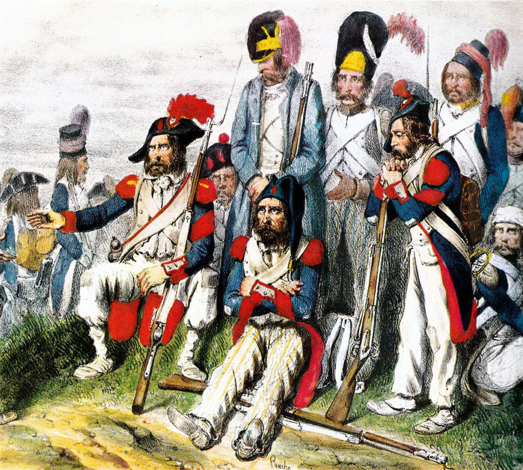 French 'Army of Italy': Battle of Alexandria 8th to 21st March 1801
