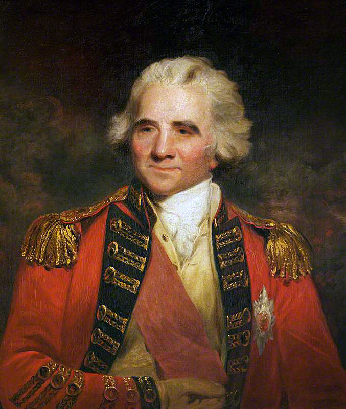 Lieutenant General Sir Ralph Abercromby, British commander at the Battle of Alexandria 8th to 21st March 1801: picture by John Hoppner