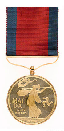 Maida Gold Medal  awarded to the 13 senior British officers in the Battle of Maida on 4th July 1806 in the Napoleonic Wars