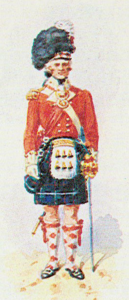Officer of 78th Highlanders: Battle of Maida or Santa Euphemie on 4th July 1806 in the Napoleonic Wars