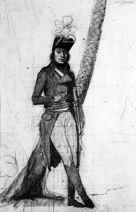 Général Jean Louis Ebénézer Reynier: Battle of Maida on 4th July 1806 in the Napoleonic Wars: sketch by Duterte